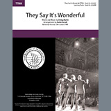 Download or print They Say It's Wonderful (from Annie Get Your Gun) (arr. Katie Farrell) Sheet Music Notes by Irving Berlin for SSAA Choir