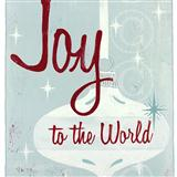 Download Isaac Watts Joy To The World Sheet Music arranged for Easy Piano (Big Notes) - printable PDF music score including 2 page(s)