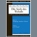 Download or print Dir, Seele Des Weltalls Sheet Music Notes by J.D. Frizzell for TTB Choir