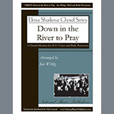 Download or print Down in the River to Pray Sheet Music Notes by Jace Wittig for SSAA Choir