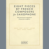 Download Jacques Ibert Aria Sheet Music arranged for Alto Sax and Piano - printable PDF music score including 4 page(s)