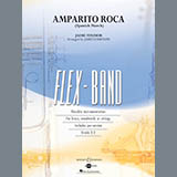 Download James Curnow Amparito Roca (Spanish March) - Pt.1 - Flute Sheet Music arranged for Concert Band - printable PDF music score including 2 page(s)