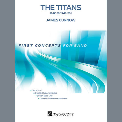 James Curnow The Titans (Concert March) - Percussion 1 (Advanced) pictures