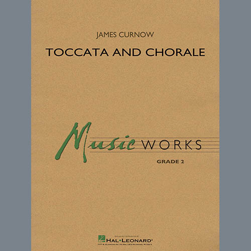 James Curnow Toccata and Chorale - Bb Clarinet 2 profile picture