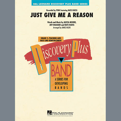 James Kazik Just Give Me a Reason - Conductor Score (Full Score) pictures