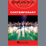 Download or print Stadium Jams Vol. 10 - Eb Baritone Sax Sheet Music Notes by Jay Bocook for Marching Band