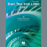 Download or print Jammin' Away Sheet Music Notes by Jennifer Watts for Piano