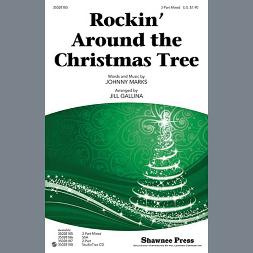 Johnny Marks Rockin' Around The Christmas Tree (arr. Jill Gallina) profile picture