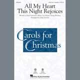Download or print All My Heart This Night Rejoices (arr. John Leavitt) Sheet Music Notes by Johann Georg Ebeling for SATB Choir