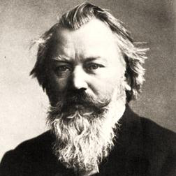 Download or print Waltz In A-Flat Major, Op. 39, No. 15 Sheet Music Notes by Johannes Brahms for Piano