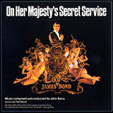 Download or print On Her Majesty's Secret Service - Theme (from James Bond) Sheet Music Notes by John Barry for Piano