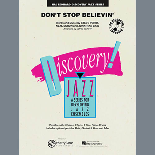 John Berry Don't Stop Believin' - Tenor Sax 1 profile picture