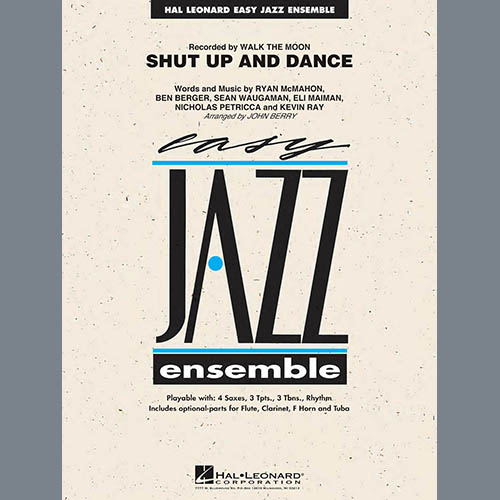 John Berry Shut Up and Dance - Bb Clarinet 1 profile picture