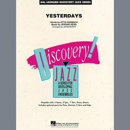 John Berry Yesterdays - Conductor Score (Full Score) profile picture