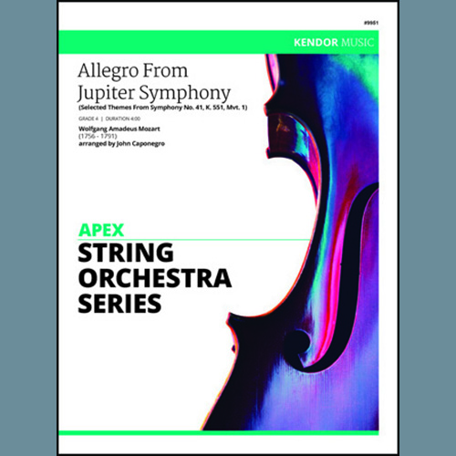 John Caponegro Allegro From Jupiter Symphony - Cello profile picture
