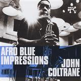 Download John Coltrane Afro Blue Sheet Music arranged for Real Book - Melody & Chords - Eb Instruments - printable PDF music score including 1 page(s)