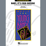 Download John Moss Baby, It's Cold Outside - Timpani Sheet Music arranged for Concert Band - printable PDF music score including 1 page(s)