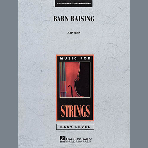 John Moss Barn Raising - Full Score profile picture