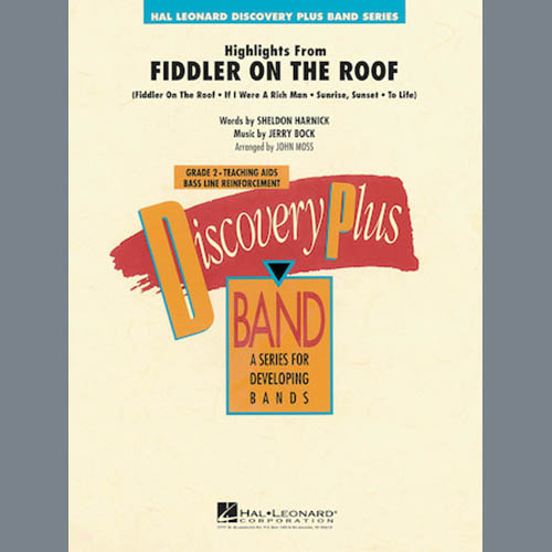 John Moss Highlights From Fiddler On The Roof - Eb Baritone Saxophone profile picture
