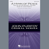 Download John Purifoy A Hymn Of Peace Sheet Music arranged for SATB - printable PDF music score including 7 page(s)