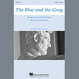Download John Purifoy The Blue And The Gray Sheet Music arranged for Choral TBB - printable PDF music score including 11 page(s)