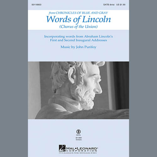 John Purifoy Words of Lincoln - Full Score pictures