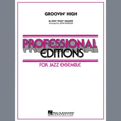 John Wasson Groovin' High - Alto Sax 1 profile picture