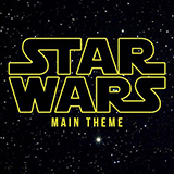 Download or print Star Wars (Main Theme) Sheet Music Notes by John Williams for Piano