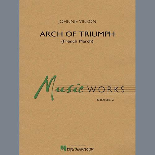 Johnnie Vinson Arch of Triumph (French March) - Eb Alto Saxophone 2 pictures