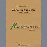 Download or print Arch of Triumph (French March) - Full Score Sheet Music Notes by Johnnie Vinson for Concert Band