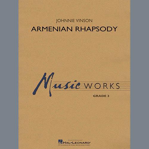 Johnnie Vinson Armenian Rhapsody - Conductor Score (Full Score) profile picture