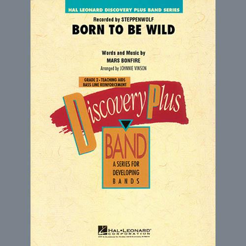 Johnnie Vinson Born to Be Wild - Full Score profile picture