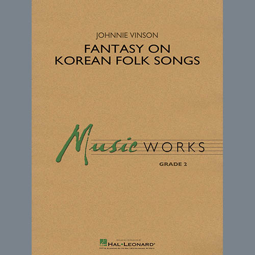 Johnnie Vinson Fantasy on Korean Folk Songs - Bb Bass Clarinet profile picture