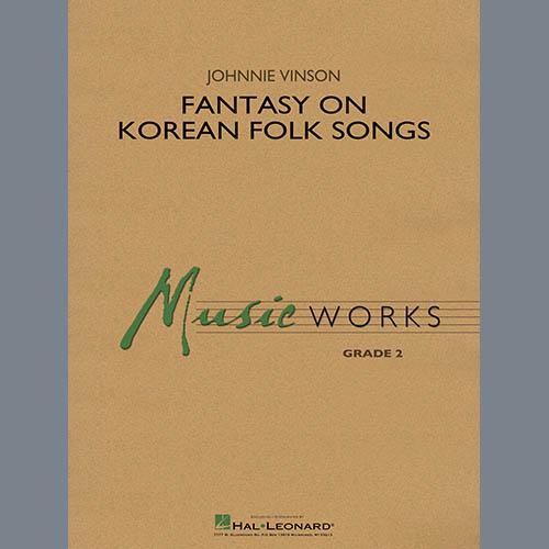Johnnie Vinson Fantasy on Korean Folk Songs - Bb Clarinet 2 profile picture