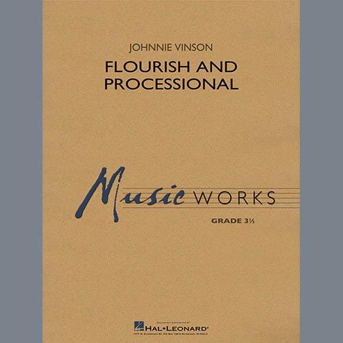 Johnnie Vinson Flourish and Processional - Eb Contra Alto Clarinet profile picture