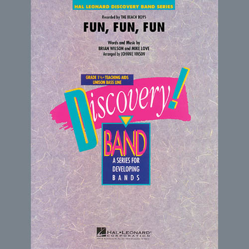Johnnie Vinson Fun, Fun, Fun - Bb Clarinet 2 profile picture