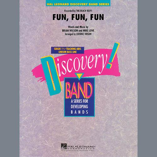 Johnnie Vinson Fun, Fun, Fun - Full Score profile picture