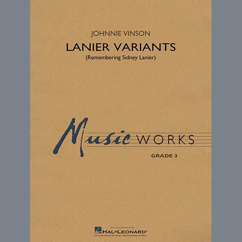 Johnnie Vinson Lanier Variants - Conductor Score (Full Score) profile picture