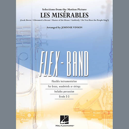 Johnnie Vinson Les Miserables (Selections from the Motion Picture) - Pt.3 - Bb Clarinet pictures