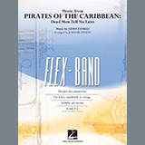 Download Johnnie Vinson Music from Pirates of the Caribbean: Dead Men Tell No Tales - Pt.5 - Eb Baritone Saxop Sheet Music arranged for Flex-Band - printable PDF music score including 2 page(s)