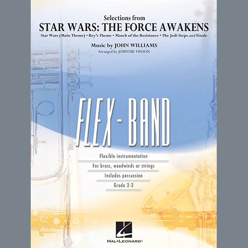 Johnnie Vinson Selections from Star Wars: The Force Awakens - Conductor Score (Full Score) profile picture