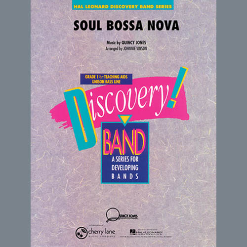 Johnnie Vinson Soul Bossa Nova - Eb Alto Saxophone profile picture