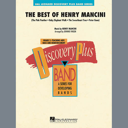Johnnie Vinson The Best of Henry Mancini - Eb Baritone Saxophone pictures