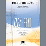 Download Johnnie Vinson The Lord Of The Dance - Pt.5 - Eb Baritone Saxophone Sheet Music arranged for Concert Band - printable PDF music score including 2 page(s)