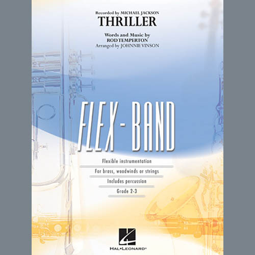 Johnnie Vinson Thriller - Pt.5 - Eb Baritone Saxophone profile picture