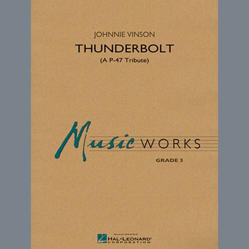 Johnnie Vinson Thunderbolt (A P-47 Tribute) - Conductor Score (Full Score) profile picture
