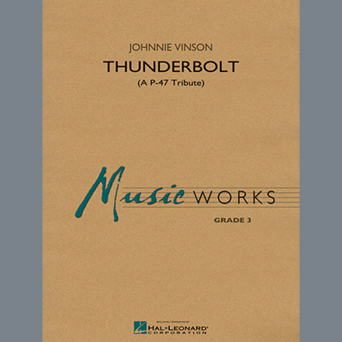 Johnnie Vinson Thunderbolt (A P-47 Tribute) - Eb Alto Saxophone 1 profile picture