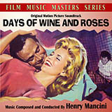Download or print Days Of Wine And Roses Sheet Music Notes by Johnny Mercer for Piano