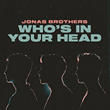 Download Jonas Brothers Who's In Your Head Sheet Music arranged for Piano, Vocal & Guitar (Right-Hand Melody) - printable PDF music score including 6 page(s)