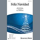 Download Jose Feliciano Feliz Navidad (arr. Paul Langford) Sheet Music arranged for SATB Choir - printable PDF music score including 13 page(s)